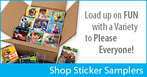 Convenient bulk stickers for your pediatric medical or dental practice!