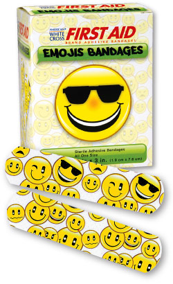 Emoji Smile Faces Bandages