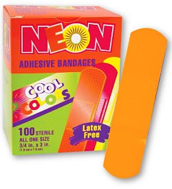 Neon Strips Bandages