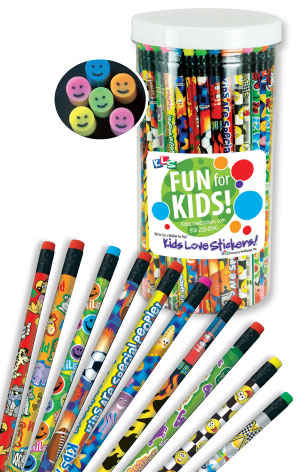 Kid Fun Pencil Sampler