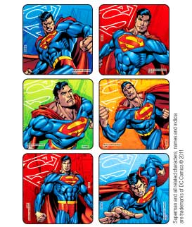 Superman Classic Stickers
