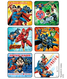 Justice League Stickers