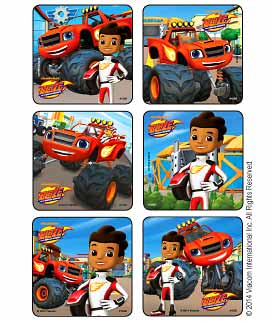 Blaze & The Monster Machines Stickers