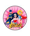 Justice League Girls Stickers