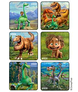 The Good Dinosaur Disney Stickers