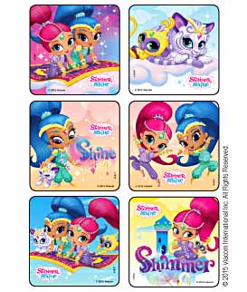 Shimmer and Shine Stickers