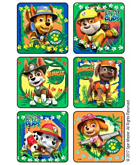 PAW Patrol Jungle Patrol Stickers