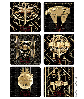 Star Wars: The Last Jedi - Spaceships Stickers
