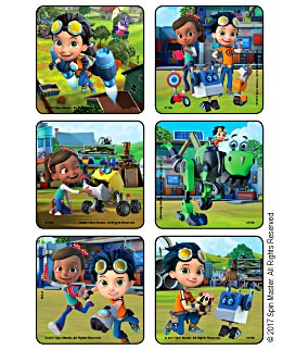 Rusty Rivets Scenes Stickers