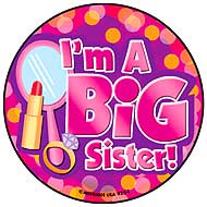 Big Sister - Glamour Stickers