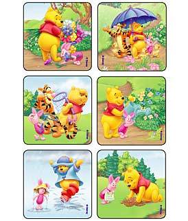 Sunnytime Pooh & Pals Disney Stickers