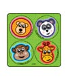 Animal Fun MiniBadges™ Stickers
