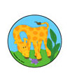 Baby Zoo Animals Asst. Stickers