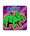 Fierce Dinosaurs Foil Asst. Stickers