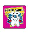 SuperHero Teeth Asst. Dental Stickers