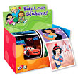 Disney Boys 'n Girls 2-Roll Display Sticker Box