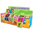 Value Roll Characters 6-Roll Display Sticker Box