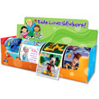 Disney Characters 4-Roll Display Sticker Box