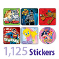 Exclusive Character Sticker Sampler