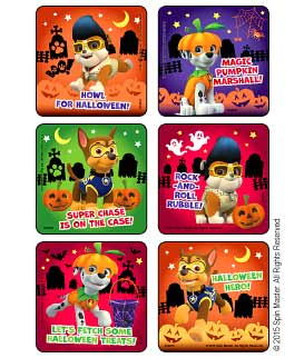 PAW Patrol Howl for Halloween Stickers