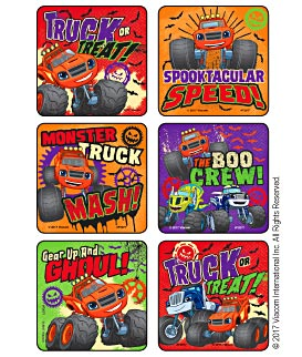 Blaze & The Monster Machines - Truck or Treat Stickers
