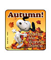 Peanuts - Feels Like Autumn Stickers