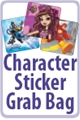 Grab Bag of Character Licensed Stickers