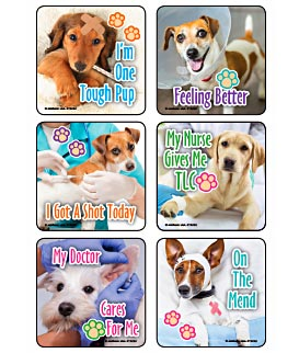 TLC Pups Asst. Stickers