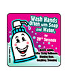 Handwashing Reminders Asst. Health Stickers