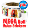Disney Cars Mega Roll Value Stickers