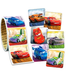 Disney Cars Value Stickers - Roll