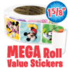 Mickey Mouse Clubhouse Mega Roll Value Stickers
