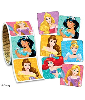 Disney Princesses Value Stickers - Roll