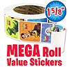 Toy Story Mega Roll Value Stickers