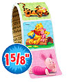 Pooh and Pals Value Stickers - Roll