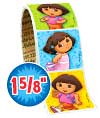 Dora Playful Value Stickers - Roll