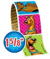 Scooby-Doo Value Stickers - Roll