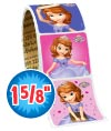 Sofia The First Value Stickers - Roll