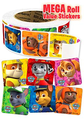 PAW Patrol Mega Roll Value Stickers™