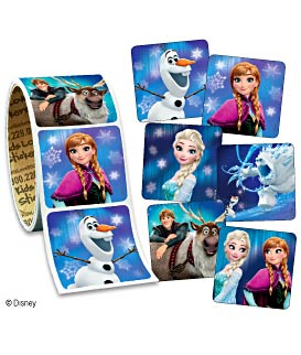 Frozen Value Stickers™ - Roll