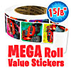 Blaze & The Monster Machines Mega Roll Value Stickers™