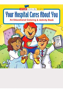 Your Hospital Cares About You Coloring Books