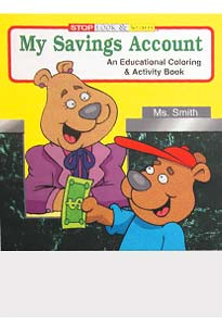 My Savings Account Coloring Books