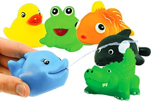 Sea Life Squirt Toy