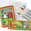 Wild Animal Coloring Activity Sets