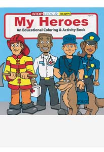 My Heros Coloring Books