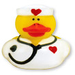 Nurse Rubber Ducky Squirt Toys